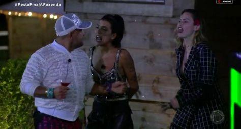 A Fazenda 10: Festa tem entre Ana Paula Renault e Evandro Santo