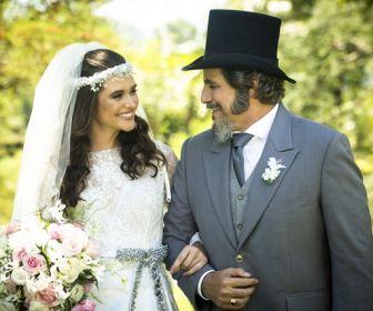 O Tempo Não Para: Um casamento de conto de fadas