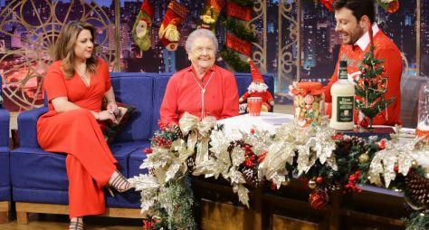 The Noite inaugura cenário de Natal com Palmirinha nesta segunda