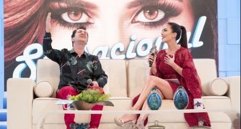 Em edição especial de Natal, programa 'Sensacional' recebe Regis Danese