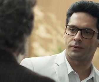 O Tempo Não Para: Dom Sabino vai desmascarar Lúcio