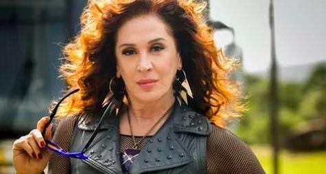 Claudia Raia comemora parceria com Isabelle Drummond