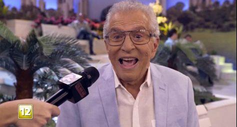 Globo: Carlos Alberto de Nóbrega aparece na chamada do Tá no Ar