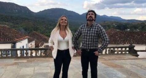 Melhores momentos: Eliana faz um passeio com o padre Fábio de Melo