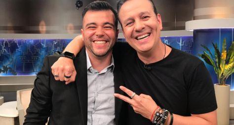 Celso Zucatelli recebe os youtubers no Todo Seu