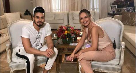 Melhores momentos: Luan Santana visita a casa da Eliana neste domingo (13)