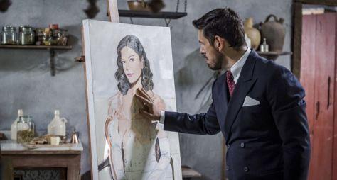 Espelho da Vida: Gustavo Bruno tenta destruir quadros de Danilo