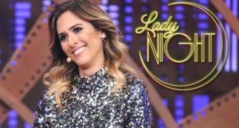 Lady Night: Tatá Werneck sonha entrevistar Silvio Santos e Faustão