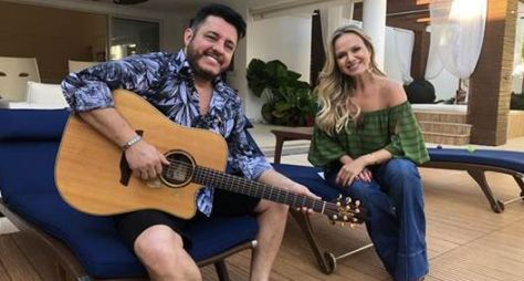 Eliana visita a casa do cantor Bruno neste domingo (27)