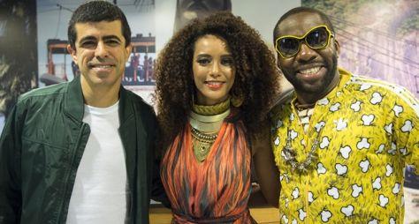 "Lázaro Ramos e Taís Araújo participam do ""Tá no Ar: A TV na TV"""