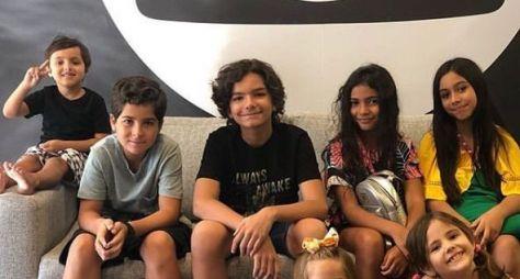 """Globo define o elenco infantil para a primeira fase de """"Dias Felizes"""""""