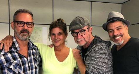 """Cristiana Oliveira e Maurício Mattar se preparam para """"Topíssima"""""""