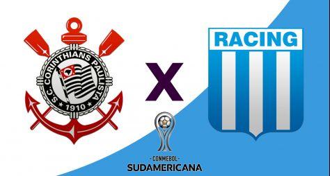 RedeTV! transmite ao vivo Corinthians x Racing pela Copa Sul-Americana