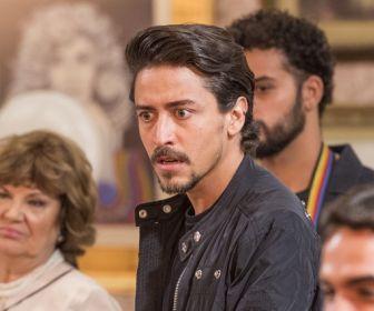Verão 90: Jerônimo fica em choque ao ver João na TV