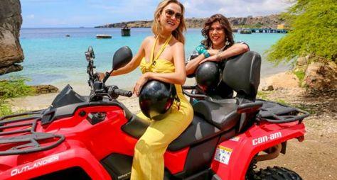 Eliana e Narcisa se aventuram em Curaçao neste domingo (24)