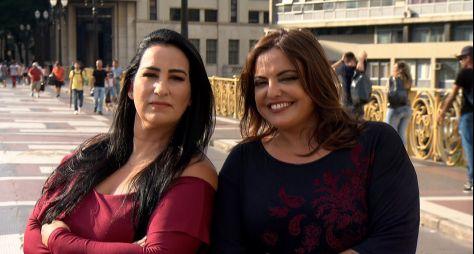 Fabíola Gadelha e Fabíola Reipert estreiam quadro no Domingo Espetacular