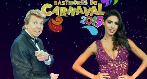 """Nelson Rubens e Flávia Noronha comandam os """"Bastidores do Carnaval"""" na RedeTV!"""