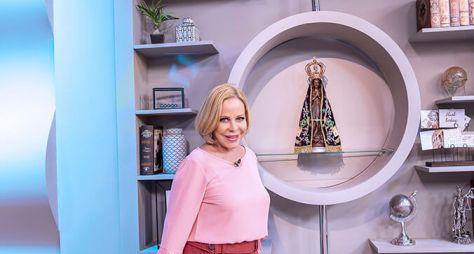 Programa de Claudete Troiano completa 5 anos com novidades na TV Aparecida