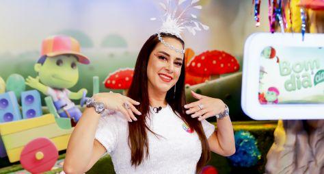 """Silvia Abravanel apresenta o """"Bom Dia & Cia especial de Carnaval"""""""