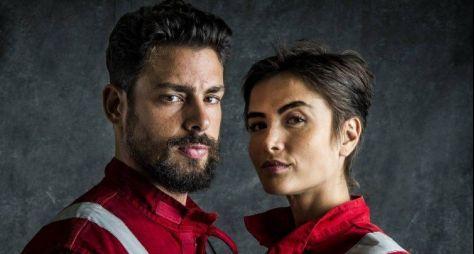 Globo finaliza as gravações da série Ilha de Ferro