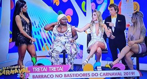 Brigas e provocações marcam o Bastidores do Carnaval da RedeTV!