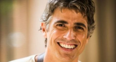 """Reynaldo Gianecchini faz aulas de tênis para """"A Dona do Pedaço"""""""