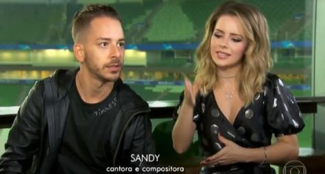 "Produções do ""Caldeirão"" e ""Domingão"" disputam Sandy e Junior"