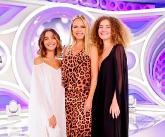 Maisa, Vitor Kley e o duo Anavitória participam do programa Eliana