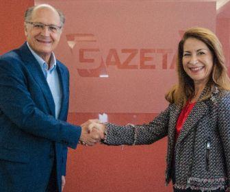 TV Gazeta comunica a contratação de Geraldo Alckmin