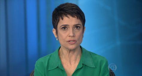 Sandra Annenberg deixa escala de rodízio da bancada do Jornal Nacional