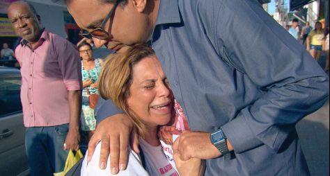Domingo Show: Geraldo Luís realiza sonho de vendedora de doces