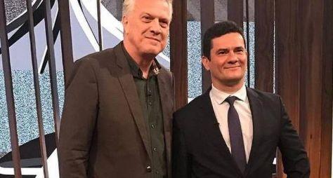 Conversa com Bial volta com entrevista com Sérgio Moro