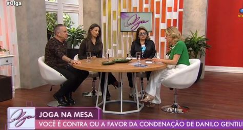RedeTV!: Estreia do programa Olga registra traço de audiência