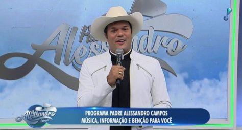 Sem ibope e anunciantes, RedeTV! desiste do Padre Alessandro Campos
