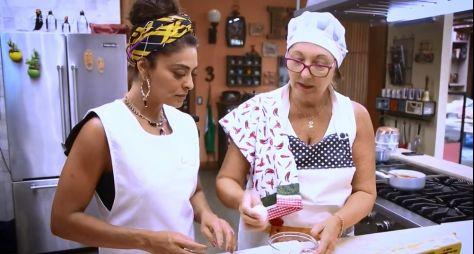 """Juliana Paes faz curso intensivo de confeitaria para """"A Dona do Pedaço"""""""