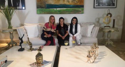 Eliana visita a casa da dupla Maiara e Maraisa neste domingo (28)
