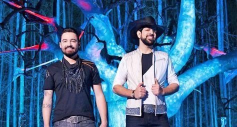 """""""Música na Band"""" exibe show da dupla Fernando & Sorocaba"""