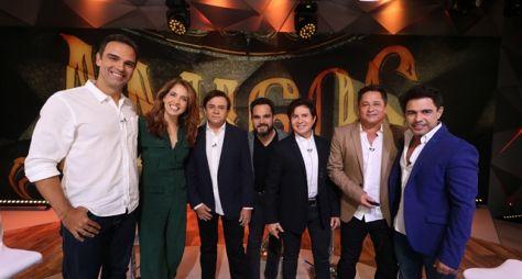 """Fantástico: Sertanejos celebram a volta do projeto """"Amigos"""""""