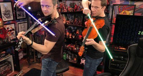 Zero1: Tiago Leifert recebe Lucas Lima para duelo de sabres de luz