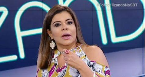 """Mara Maravilha pode reingressar time de apresentadores do """"Fofocalizando"""""""