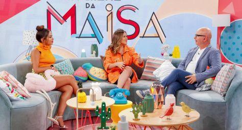 Maisa conversa com Anitta e Marcelo Tas no programa deste sábado (11)