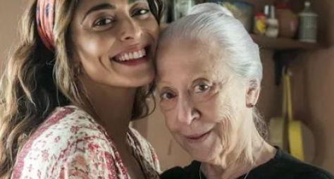 """Juliana Paes e Fernanda Montenegro gravam cenas de """"A Dona do Pedaço"""""""