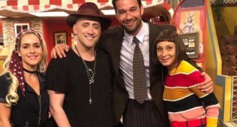 Sérgio Marone grava participação em série do Multishow