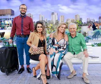 """Christina Rocha participa do quadro """"A Ciumenta"""" no """"A Praça é Nossa"""""""