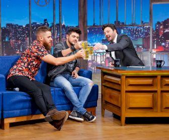 Danilo Gentili conversa com Zé Neto e Cristiano no The Noite de hoje