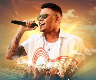 """Música na Band"" exibe show do cantor Felipe Araújo"