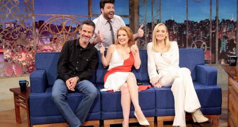 The Noite recebe Sophie Turner, Jessica Chastain e Simon Kinberg nesta segunda