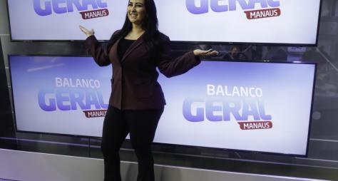 Fabíola Gadelha estreia no Balanço Geral Manaus