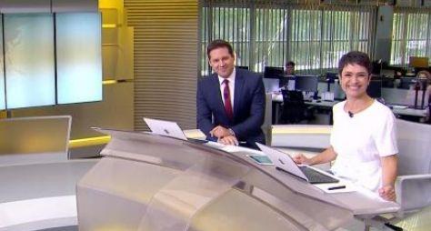 Globo faz reunião de emergência para estancar crise de audiência do Jornal Hoje