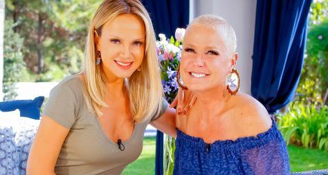 Eliana recebe Xuxa em sua casa no programa deste domingo (16)